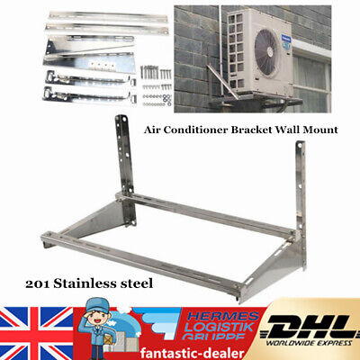 £42 • Buy Air Conditioner Wall Mount 201 Stainless Steel Bracket Holder Unit 74*50*47CM UK