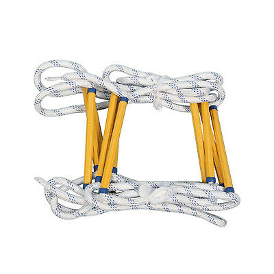 £73 • Buy Fire Emergency Escape Rope Ladder Home Rescue Rock Climbing Outdoor Safety Work