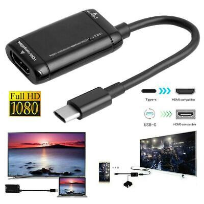 AU6.10 • Buy USB-C Type C MHL To HDMI Video  Cables Adapter For Phone Tablet Pad