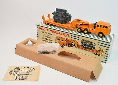 £450 • Buy Dinky Toy 898 Berliet Low Loader With Transformer Very Near Mint/Boxed