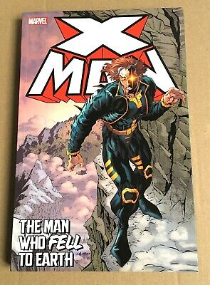 X-Men - X-Man – The Man Who Fell To Earth - Graphic Novel Paperback • 4.99£