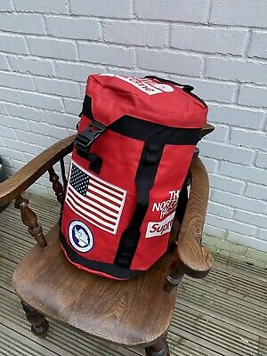 $ CDN259.28 • Buy The North Face Supreme Trans Antarctic Big Haul USA Flag Backpack - NEW - RED