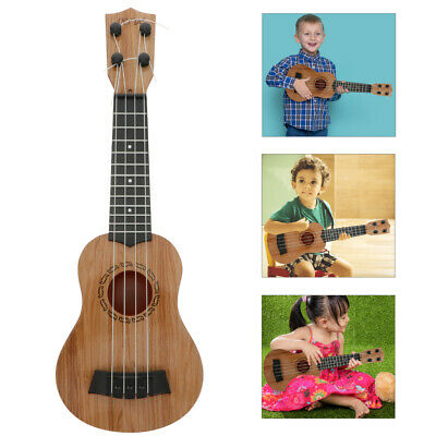 AU16.16 • Buy 1pc Portable Durable Kids Ukulele Toy Wooden Ukulele For Beginner Kids