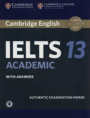Cambridge IELTS 13 Academic Students Book With Answers With Audio Authentic Ex • 31.35£