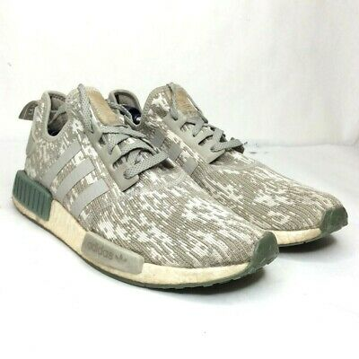 $ CDN43.80 • Buy Adidas NMD R1 PK Boost Green Beige Glitch Camo CQ0860 Size 12 Shoes