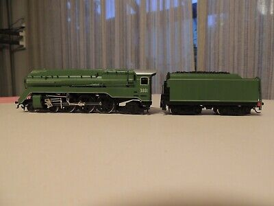 AU1100 • Buy NSWGR 3801 HO 4-6-2 Steam Locomotive BRASS  From Model  Dockyard Melbourne