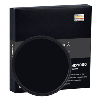 AU19.99 • Buy  For DSLR Camera ZOMEI 67mm HD ND1000 MC Optical Glass 10 Neutral Density Filter