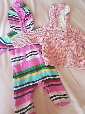 AU3.74 • Buy Baby Girl Clothes Bundle 0-3 Months. Excellent Condition.