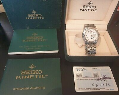 $ CDN36.27 • Buy Vintage Seiko Kinetic 5M43-0A50 Not Working