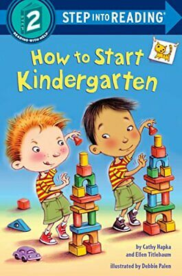 £4.73 • Buy How To Start Kindergarten Step Into Reading, Step 2
