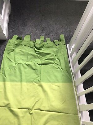 £9 • Buy Curtains 72 Drop X 64 Wide Tab Top Lined