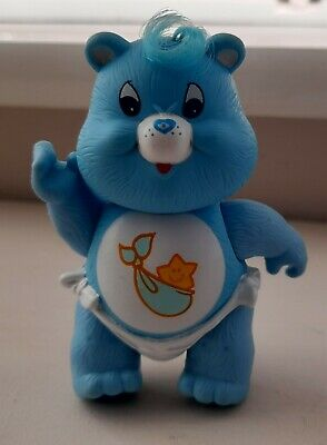 £12 • Buy Vintage Care Bear Baby Tugs Bear Plastic Posable 1984 Collectable 1980s Retro