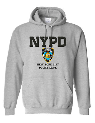 £15.99 • Buy Men's Unisex NYPD Badge Police NEW YORK USA Gift Kids And Adult Unisex Hoodie