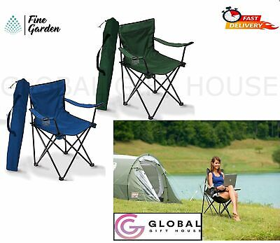 £15.99 • Buy Folding Foldable Picnic Seat Cup Holder Garden Outdoor Camping Fishing Chair