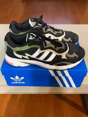 $ CDN0.01 • Buy Adidas Temper Run Men's US 11 Black Used