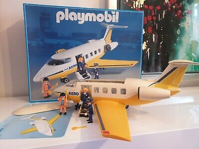 £25 • Buy Playmobil 3185 / 3352 Aeroplane Boxed 99% Complete With Instructions VGC