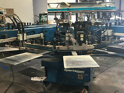 $25000 • Buy M&R Sportsman 8 Color Automatic Screen-Printing Press - 2007