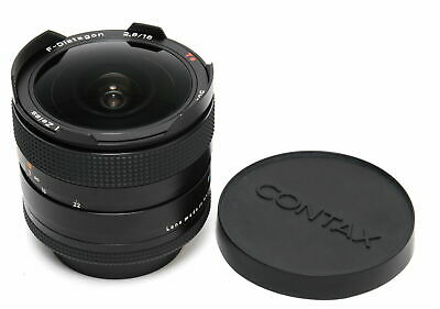 $ CDN1663.39 • Buy Zeiss For Contax RTS  F-Distagon 2.8/16mm  T* Fisheye Lens Mint Condition