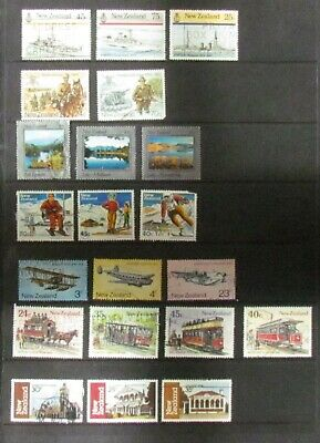 AU1.77 • Buy New Zealand Postage Stamps 21 Used Part Sets