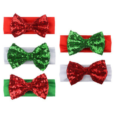 $ CDN13.71 • Buy 5Pcs Hair Band Bowknot Hair Hoops Christmas Themed Headband For Baby Kids Girls