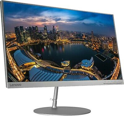 AU242.13 • Buy Lenovo L24q 23.8  IPS QHD 2k 1440p Display 16:9 Widescreen Monitor Silver New
