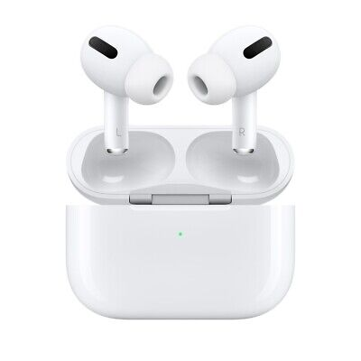 AU230.44 • Buy Apple AirPods Pro With Wireless Charging Case White