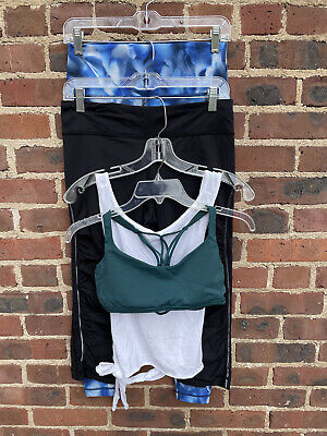 $ CDN41.23 • Buy Lululemon Lot Of 4: Bra, Warp Tank, Crop & Pant  Size 8