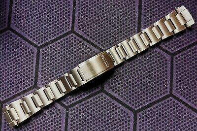 $ CDN37.43 • Buy New 19mm Watch Band Solid S/steel For Seiko 6139-6002/6005  Pogue  Chronograph