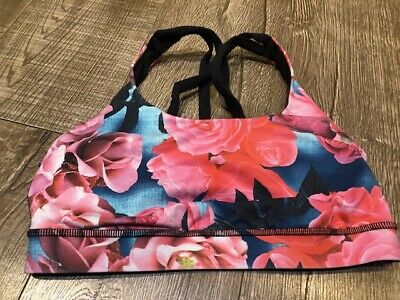 $ CDN20 • Buy Lululemon Secret Garden Energy Bra Size 4
