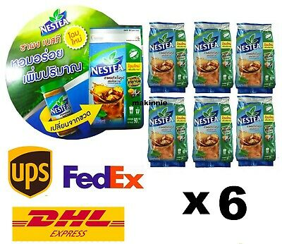 $98.50 • Buy 6X 90g NESTLE NESTEA UNSWEETENED 100% ICED TEA MIX For Brew Drink New Package