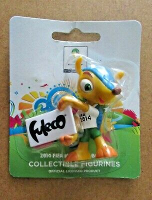 £11.75 • Buy 2014 Fifa  Brazil World Cup Mascot Fuleco Collectable Figure With Name Banner