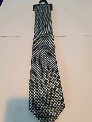 £9.99 • Buy Ted Baker Tie - Pure Silk Houndstooth Design BNWT 1 OF 2
