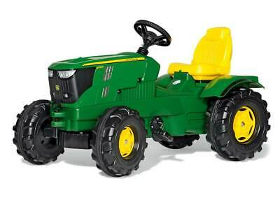 £179.99 • Buy Rolly Toys John Deere 6210R Farmtrac Pedal Tractor For 3 - 8 Year Old Kids-green
