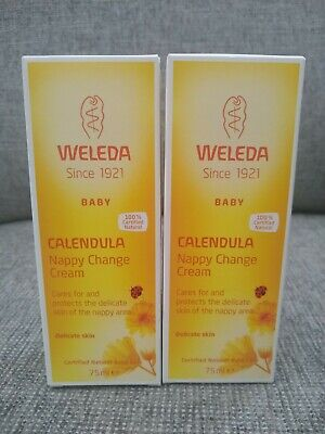 £15.99 • Buy 2 X Weleda Calendula Baby Nappy Change Cream 75ml New Boxed Date: 04/2022