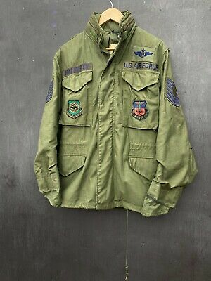 $120 • Buy Alpha Industries 70s Vintage M65 Military Jacket Size S
