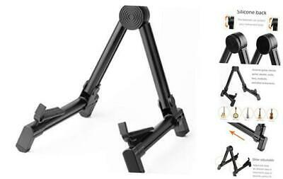 $ CDN23.62 • Buy Guitar Stand,  Folding A-Frame Aluminum Stand For 8.6-11.8*9*10.8-14in Black