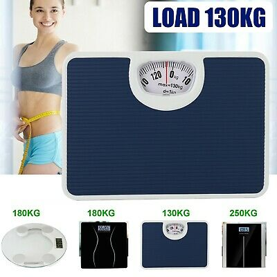 £7.99 • Buy 130/180/250kg Body Weight Scale Scales Electronic Digital Weighing Bathroom Uk