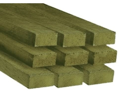 £58 • Buy Timber Treated C16/C24 3x2 (75mm X 47mm) - 1.2m (4ft) Long (Pack Of 10 Lengths)