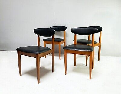AU704.16 • Buy Set Of 4 1970's Mid Century Dining Chairs By Schreiber