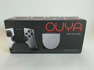 $134.10 • Buy OUYA Video Game Console With Controller - Silver - Brand New Factory Sealed