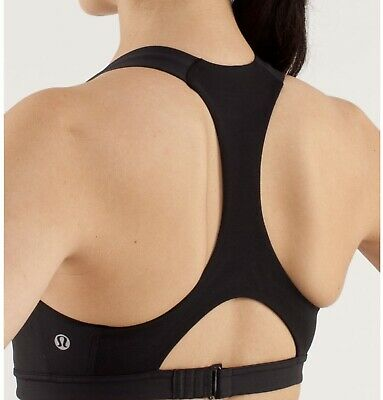 $ CDN31.23 • Buy Lululemon Women's Run: Hook Me Up Bra In Black Size 4