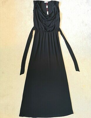 £15 • Buy BNWT Wal G Black Maxi Dress With Drape Neckline Size S UK 10 RRP £34 From ASOS