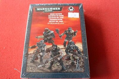 £24.99 • Buy Games Workshop Warhammer 40k Chaos Cultists Squad 5 Models Space Marines New GW