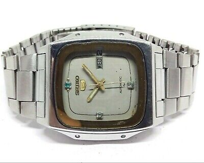 $ CDN43.16 • Buy Vintage Men's Seiko 5 Automatic Day Date Wrist Watch In Excellent Condition