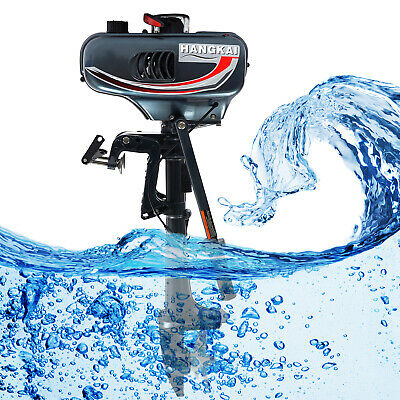 AU328 • Buy 3.5HP 2 Stroke Outboard Motor Fishing Boat Engine Water Cooling Short Shaft CDI