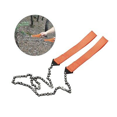 £5.59 • Buy Pocket Hand Chainsaw Outdoor Survival Camping Hiking Wood Cutting Chain  Tool