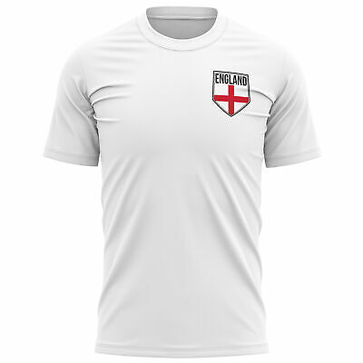 £9.95 • Buy Mens England Shield Badge T Shirt Football Country English Footy Fans St George