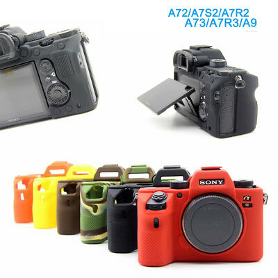 $ CDN11.55 • Buy SONY A9 Soft Silicone Camera Bag Case Skin Cover For A7R3 A7III A72 A7S2 A7R2