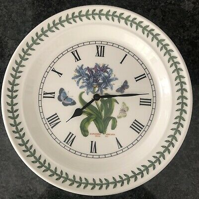 £23 • Buy Portmeirion Botanic Garden African Lily Wall Clock New Boxes