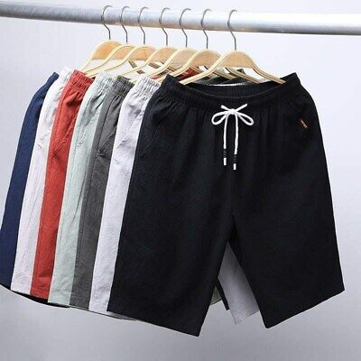 $15.99 • Buy Mens Casual Shorts Outdoor Pants Sports Workout Hiking Fitness Summer Beach